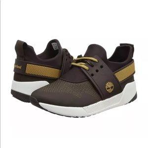 Timberland Kiri Up Knit Ox DK BRN Women's Sneaker